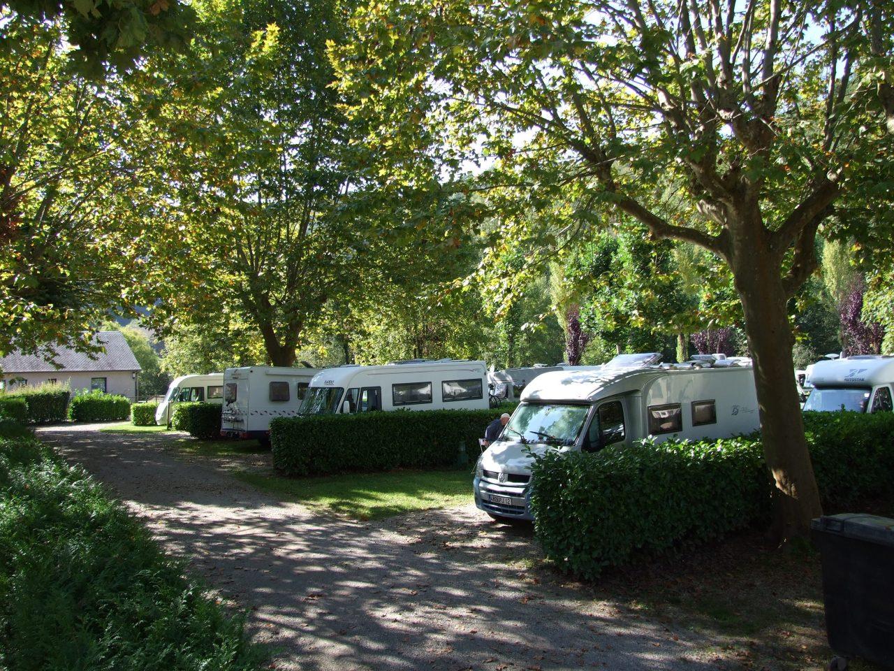Aire de Camping car Villecomtal