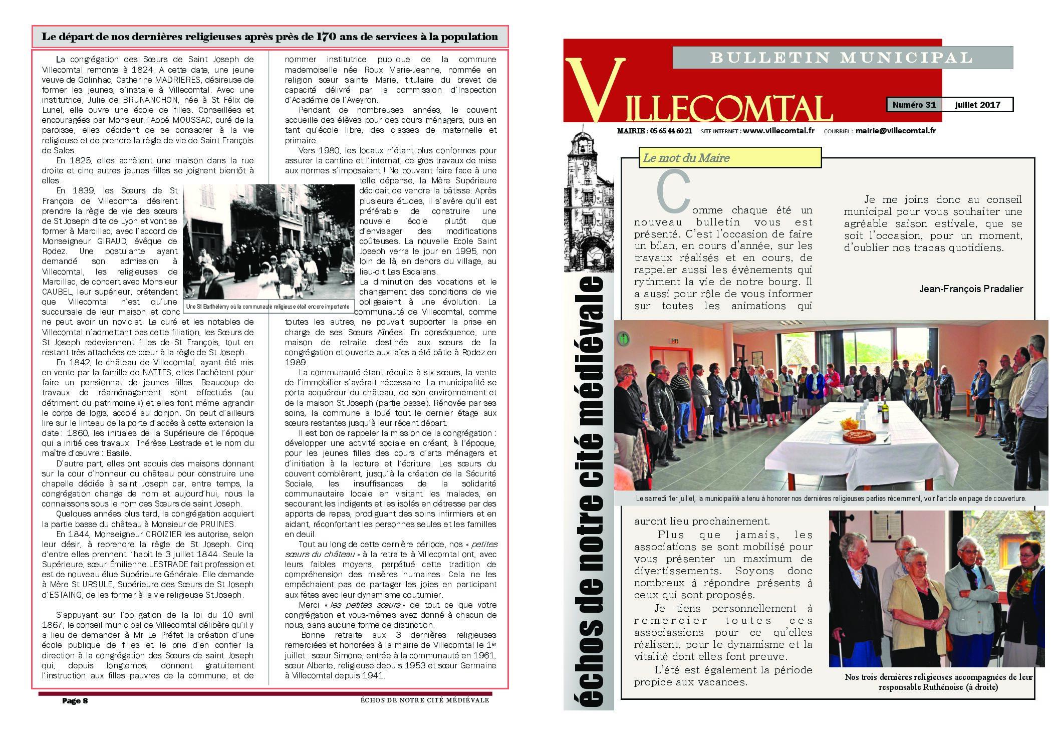 Bulletin municipal n°31