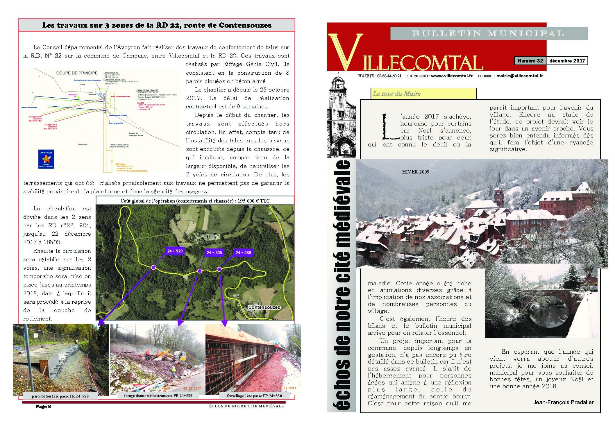Bulletin municipal n°32