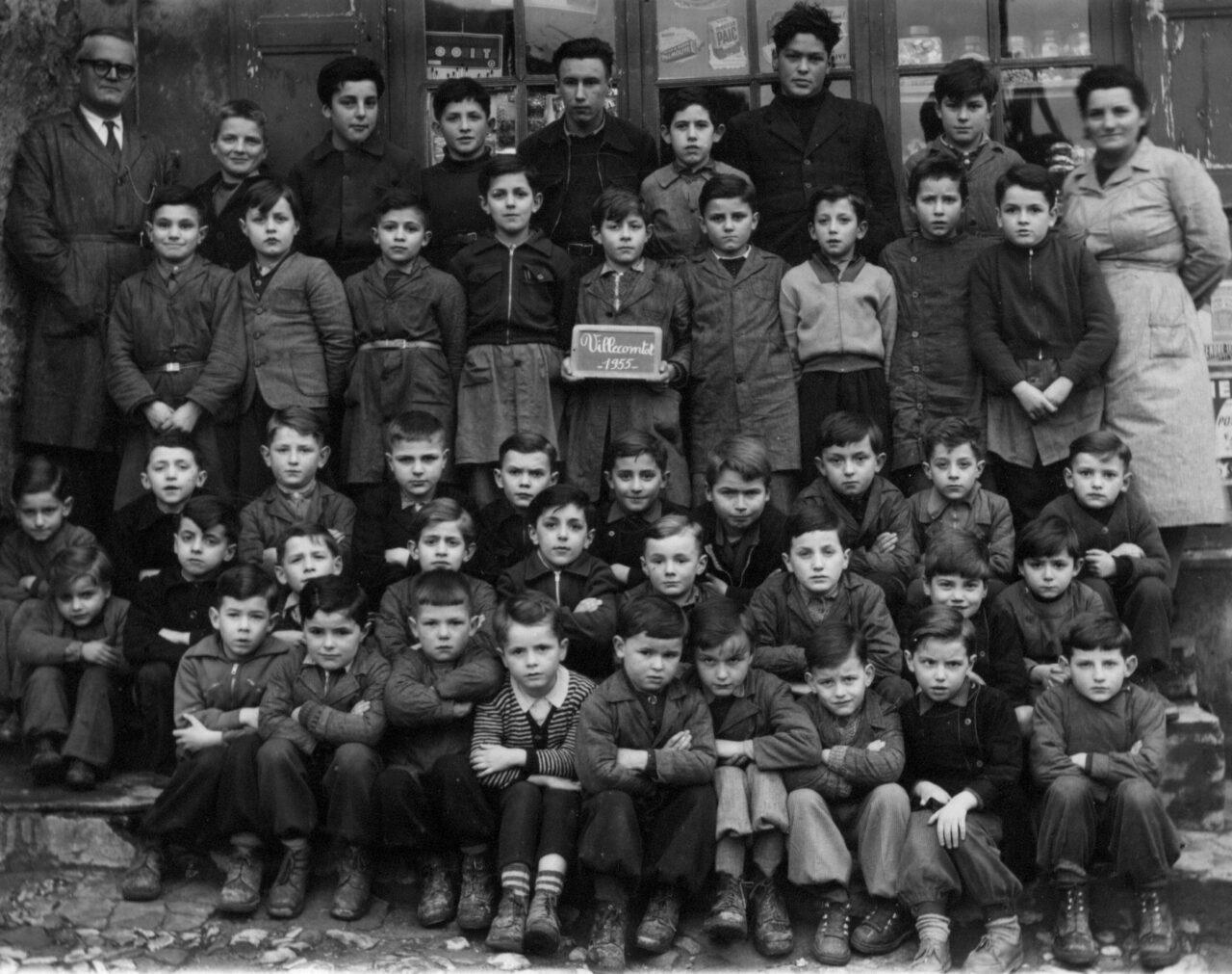 1955-1956 Villecomtal