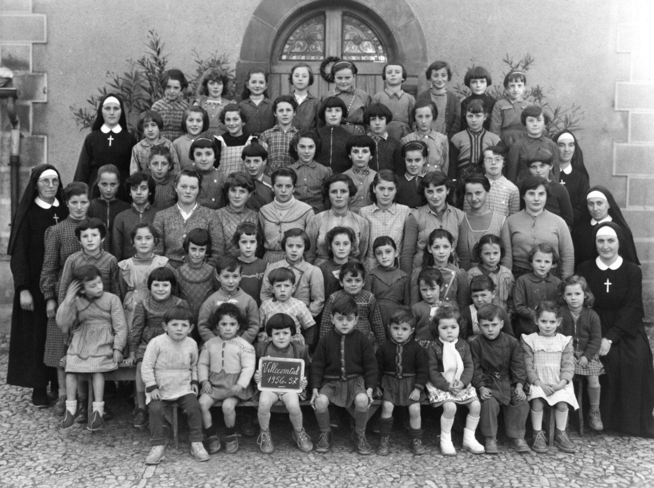 1956-1957 Villecomtal