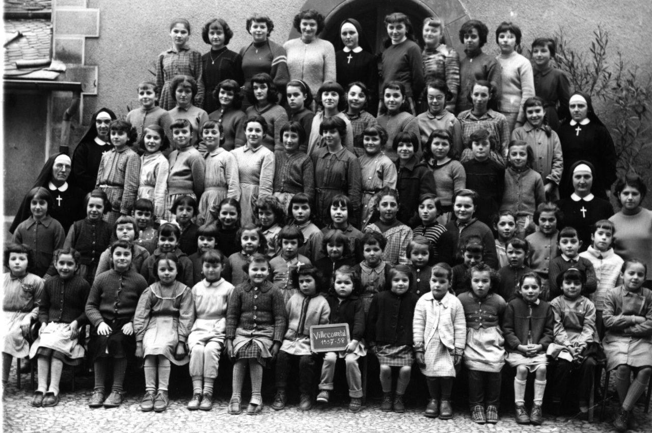 1957-1958 Villecomtal