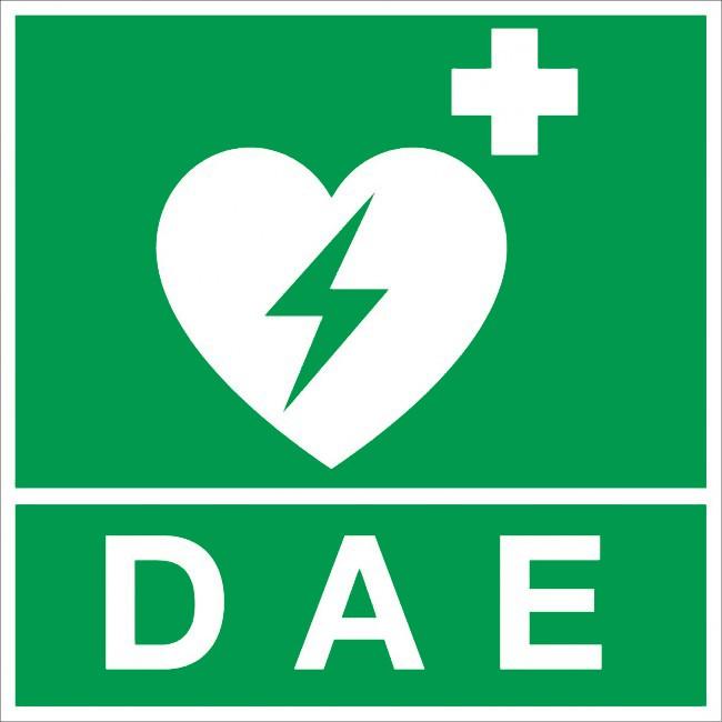 logo DAE défibrilateur automatique
