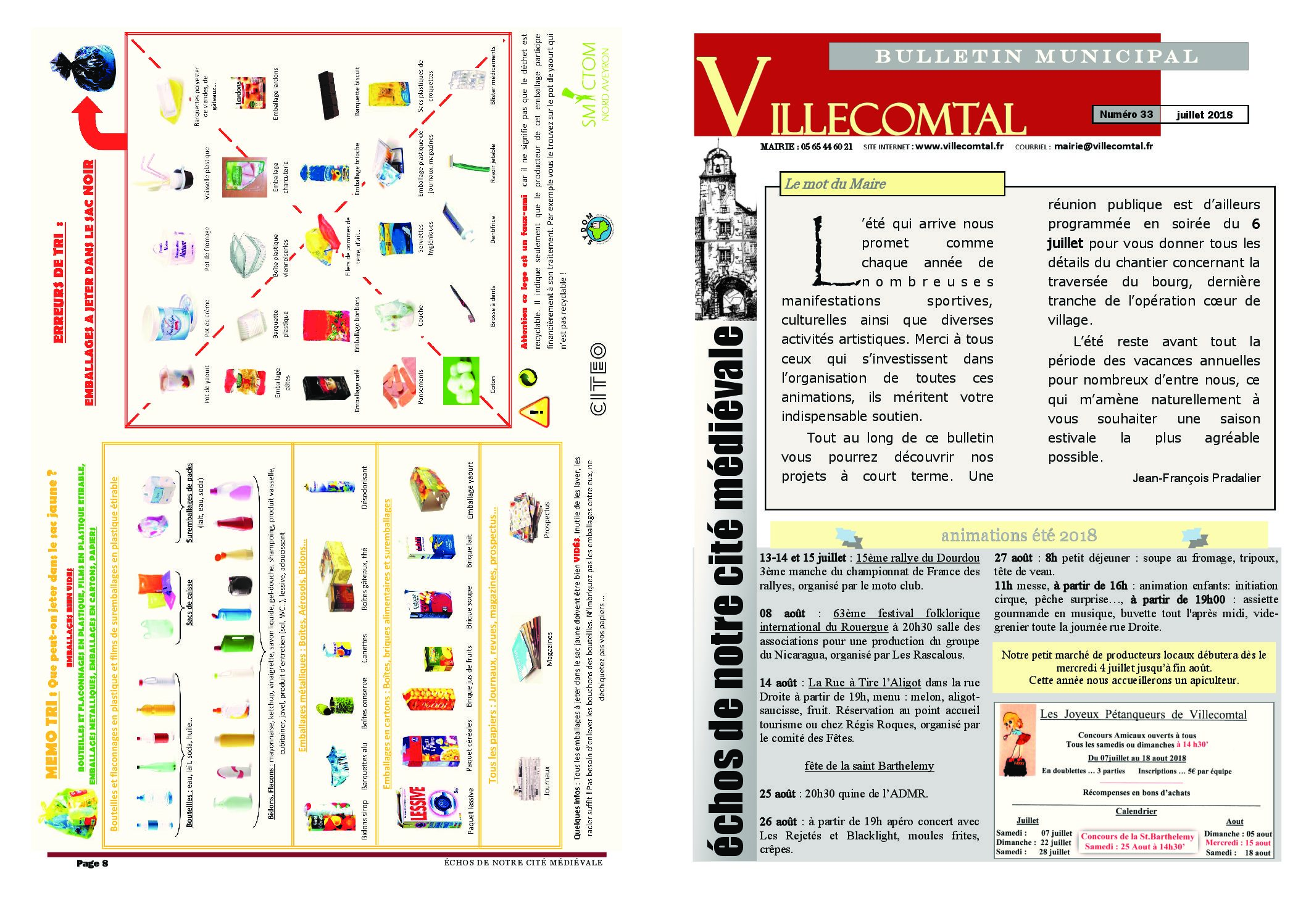 Bulletin municipal n°33