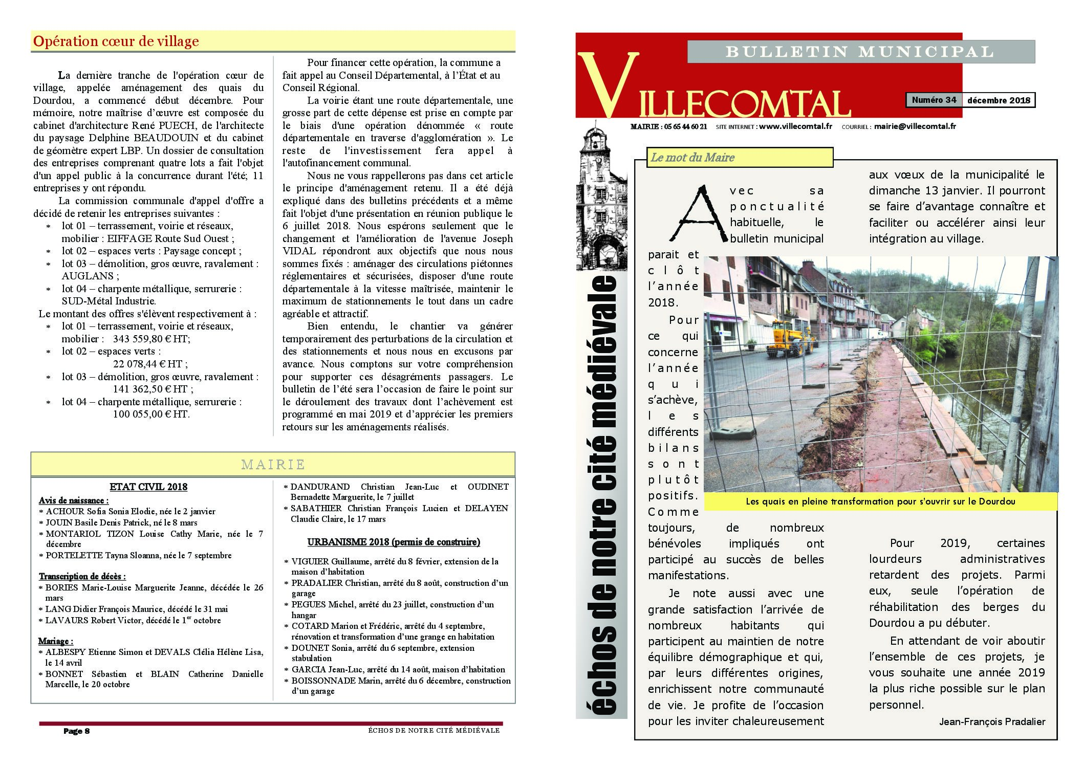 Bulletin municipal n°34