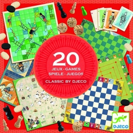 20 jeux classiques