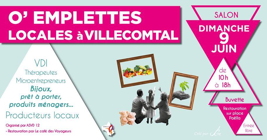 O'Emplettes locales à Villecomtal