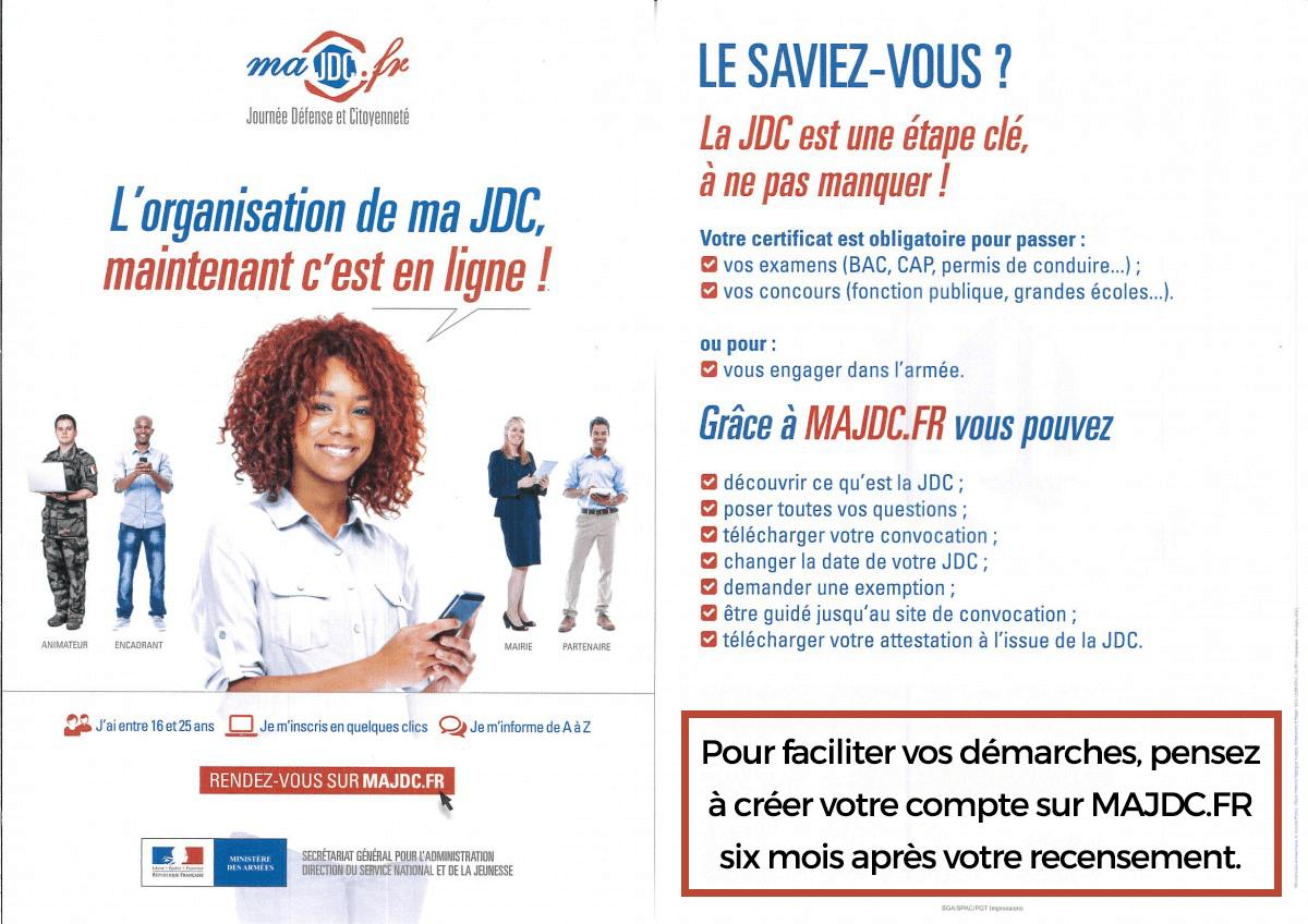 Flyer MAJDC Journée du citoyen