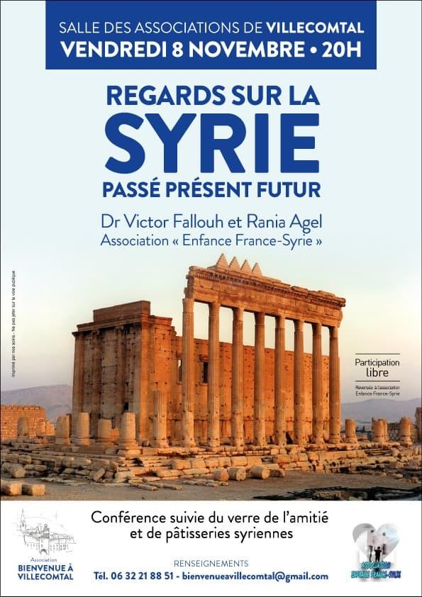 """Conférence """"Regards sur la Syrie"""" - Passé, présent, futur"""