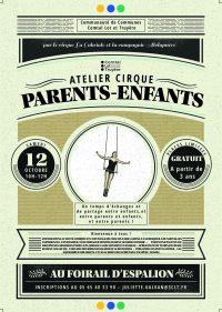 Atelier Cirque parents-enfants le 12/10 à Espalion