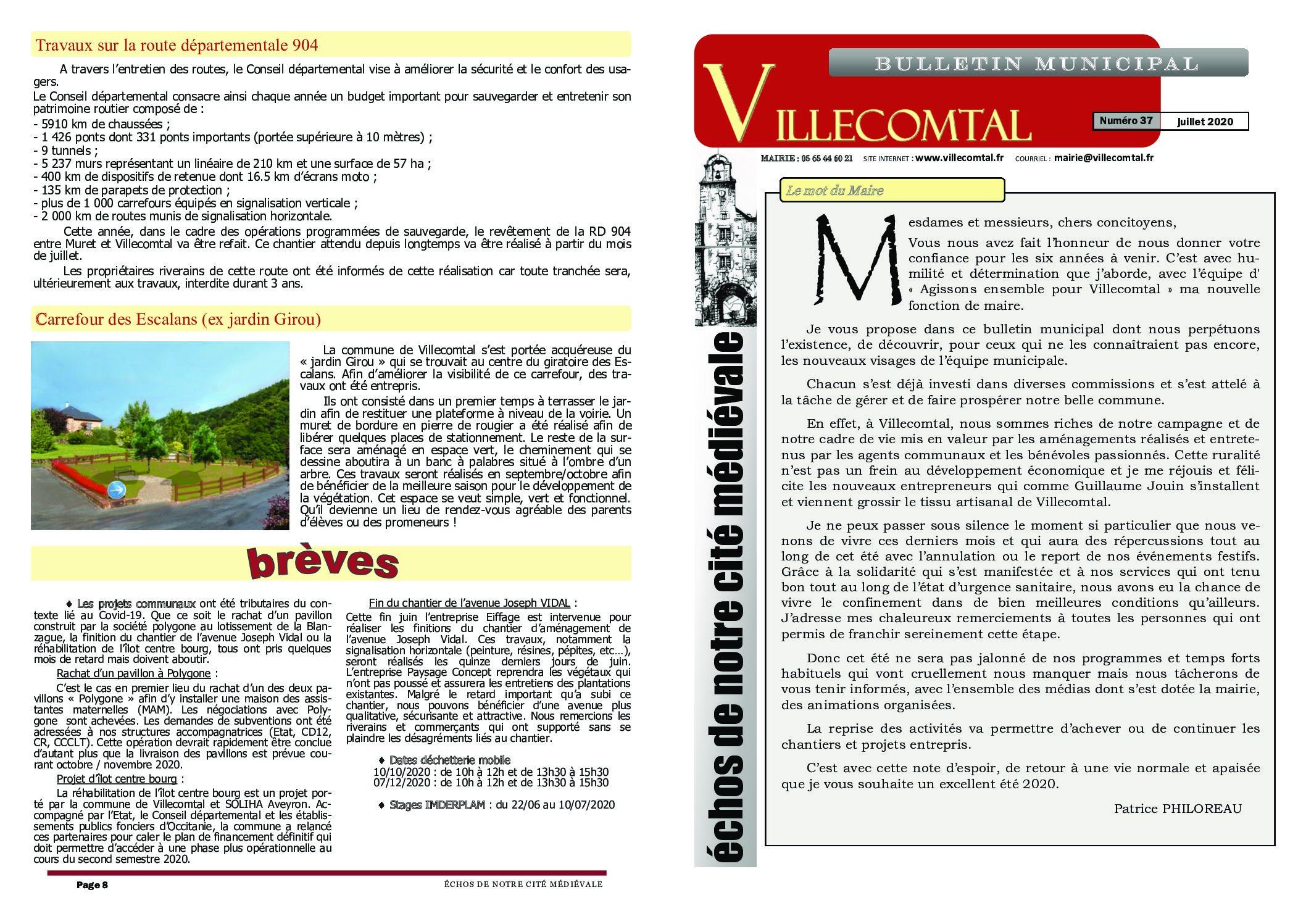 Bulletin municipal n°37