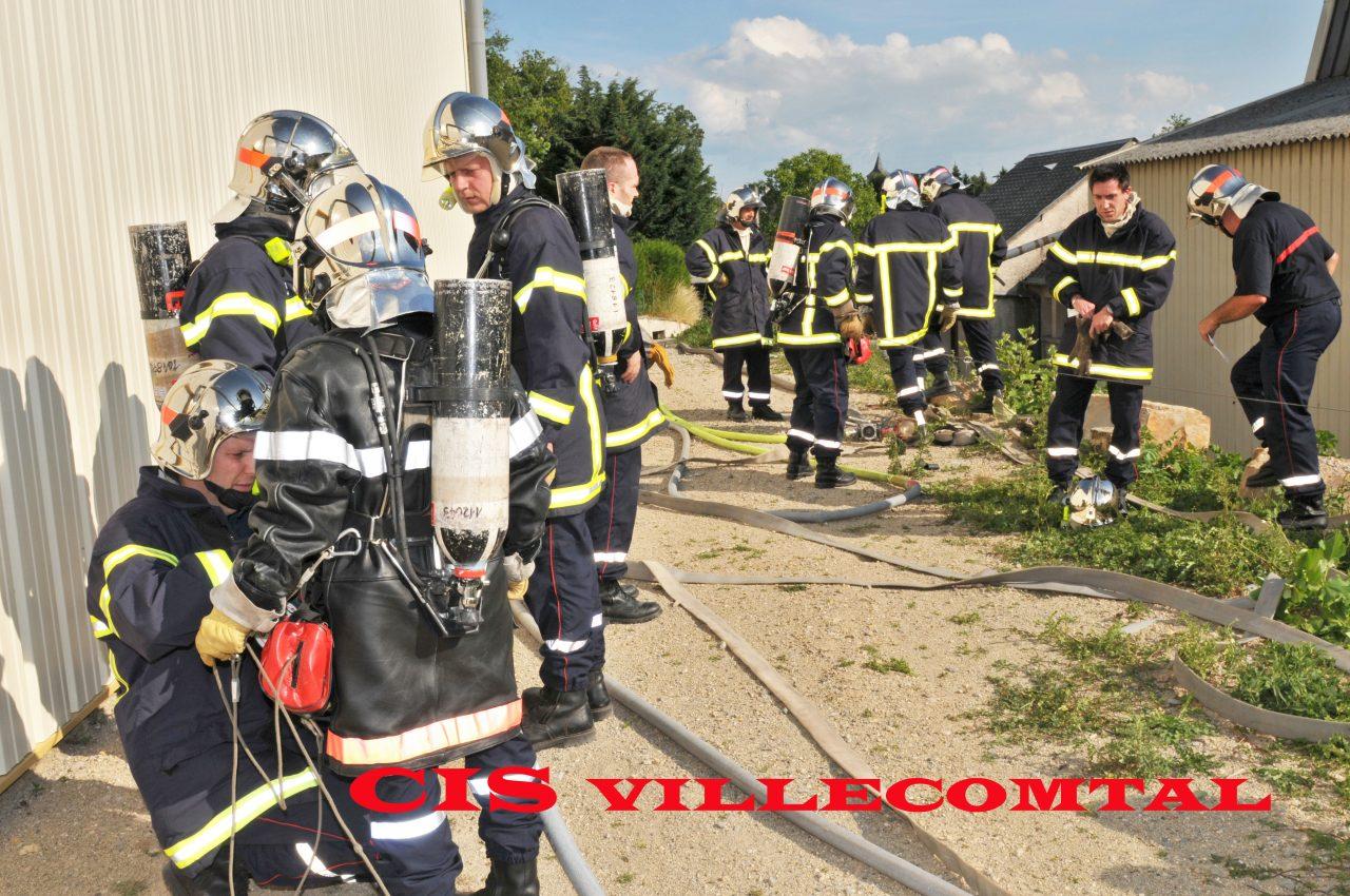 CIS Villecomtal pompiers