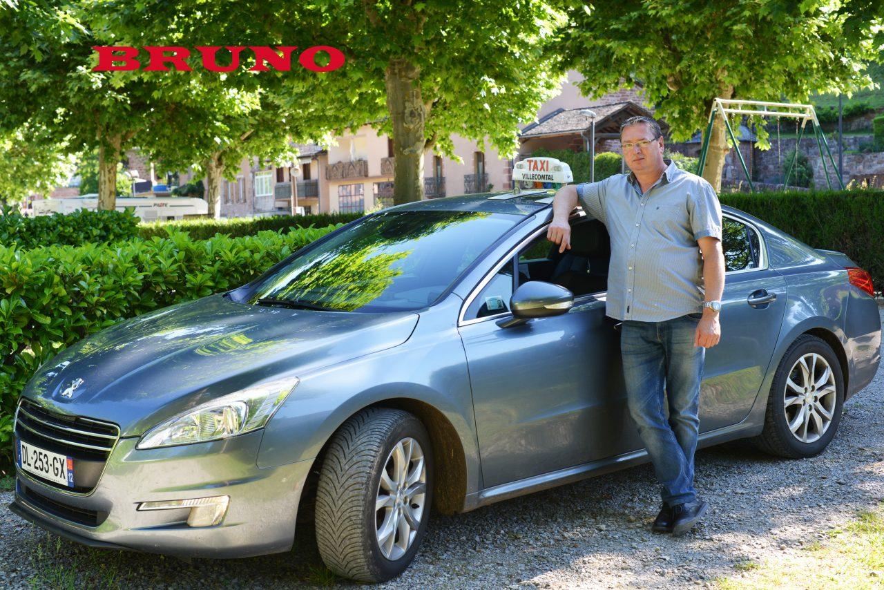 Bruno Cavalier Taxi du Dourdou Transport de malade assis
