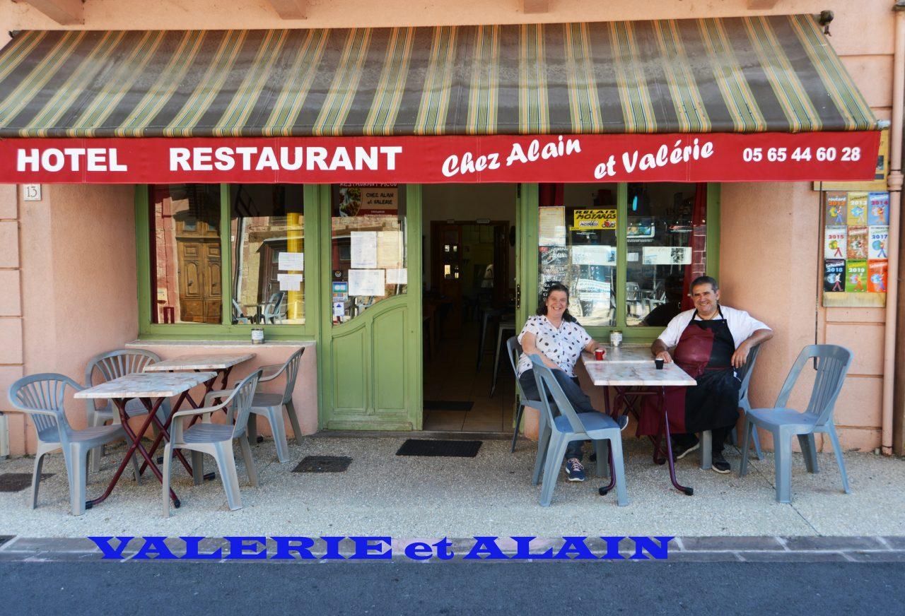 Valérie et Alain, hôtel restaurant