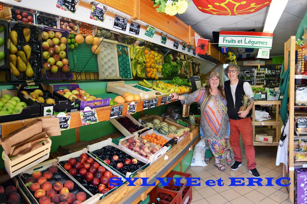 Sylvie et Eric Laurent, épicerie superette
