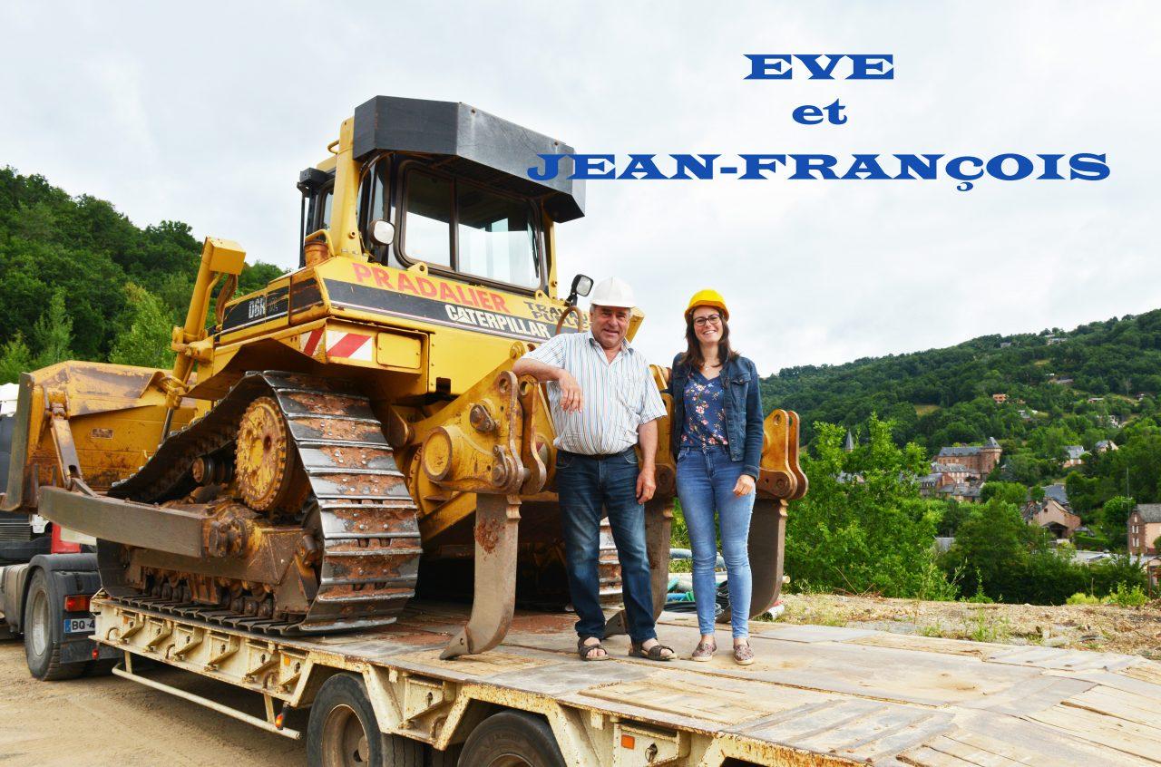 Eve et Jean-François Pradalier, Travaux publics