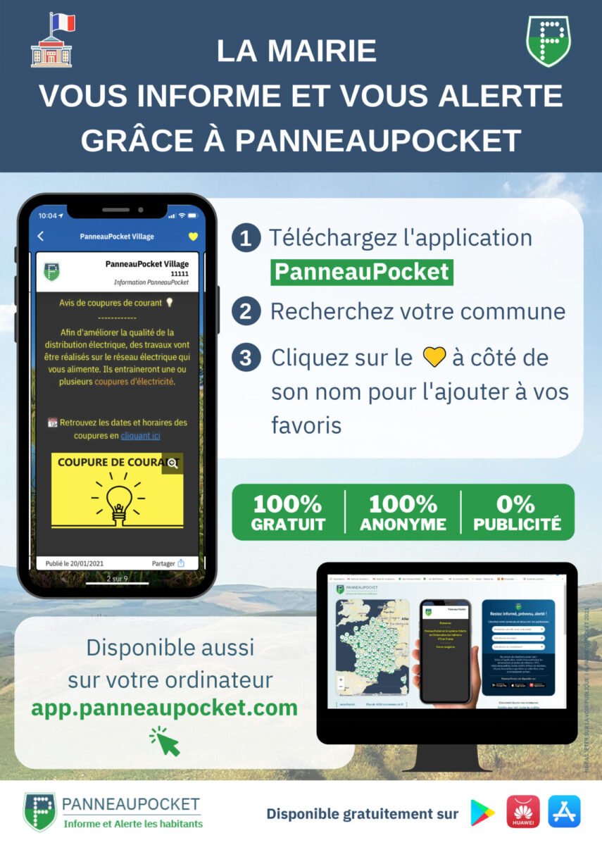 Application Panneaupocket